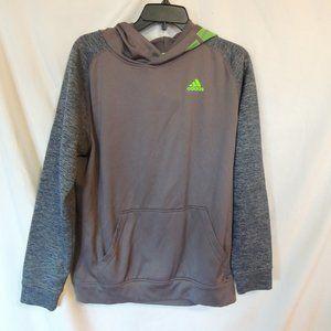 Adidas Boys polyester hooded sweatshirt size 18 XL